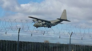 Whiteley Couriers at RAF Brize Norton