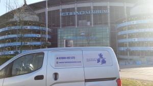 The Etihad Stadium home of Premier League Champions Manchester City.