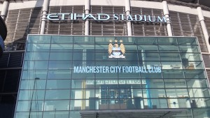 The Etihad Stadium home of Premier League Champions Manchester City.