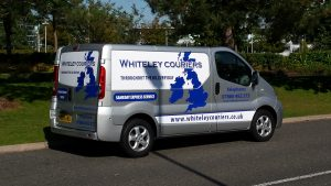 Whiteley Couriers Van